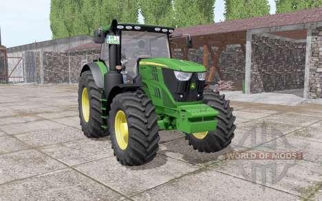 John Deere 6195R v2.0 pour Farming Simulator 2017