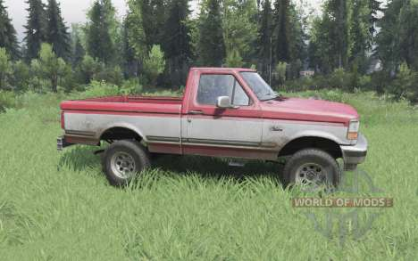 Ford F-150 Regular Cab XLT 1992 pour Spin Tires