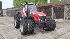 Massey Ferguson 8732 new sound pour Farming Simulator 2017