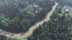 La route vers le lac Blanc