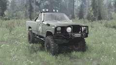 Ford F-150 Ranger 1982 lifted für MudRunner
