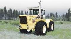 RABA Steiger 250 yellow-white pour Spin Tires