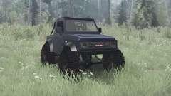 Suzuki Samurai 1990 crawler pour MudRunner