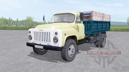 GAZ 53 LKWs v1.2 für Farming Simulator 2017