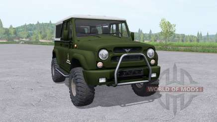 UAZ 3159 bars für Farming Simulator 2017