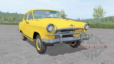 GAZ 21 Wolga Taxi 1956 v1.3 für Farming Simulator 2017