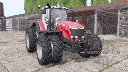 Massey Ferguson 8732 new sound für Farming Simulator 2017