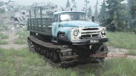En 1 Vityaz expérimentés 1967 v1.1 pour MudRunner