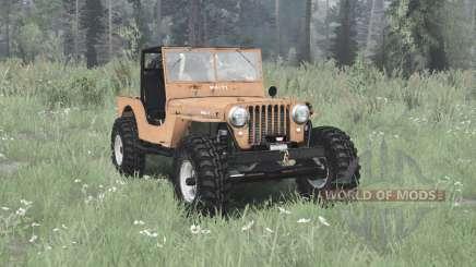 Jeep CJ-2A 1945 pour MudRunner