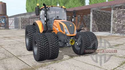 New Holland T5.120 Gamling Edition pour Farming Simulator 2017
