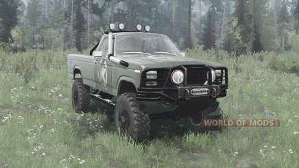 Ford F-150 Ranger 1982 lifted pour MudRunner