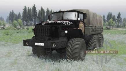 Ural 4320 v2 OneShot.0 pour Spin Tires