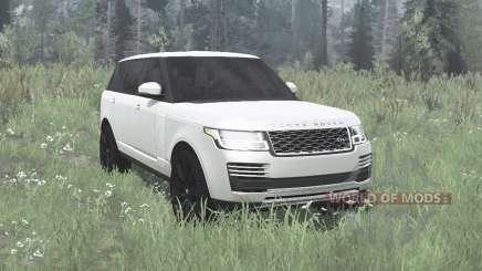 Land Rover Range Rover SVA LWB (L405) 2017 pour MudRunner