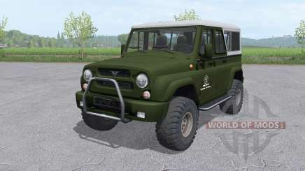 UAZ 3159 bars v1.1 für Farming Simulator 2017