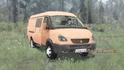 GAZ-2705 GAZelle 2003 für MudRunner