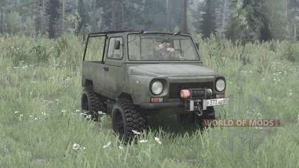 LuAZ 969 4x4 pour MudRunner