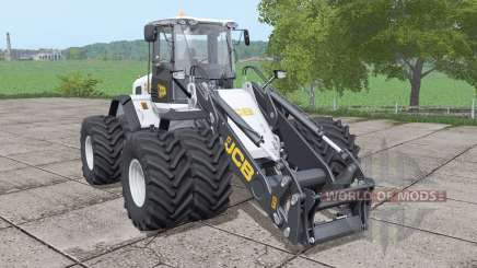 JCB 435S double wheels v1.0.0.1 für Farming Simulator 2017