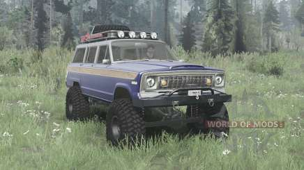 Jeep Wagoneer 1978 pour MudRunner