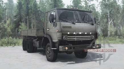 KamAZ 4310 6x6 vert pour MudRunner