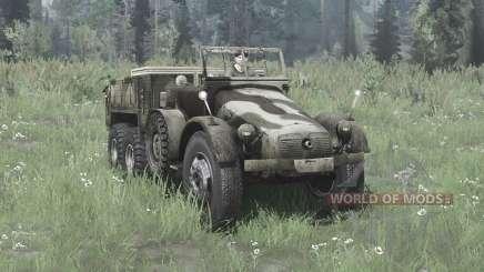 Krupp L 2 H 43 Kfz.70 v2.0 für MudRunner