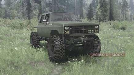 Chevrolet K30 1985 crawler pour MudRunner