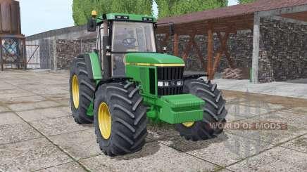 John Deere 7610 interactive control v2.0 pour Farming Simulator 2017