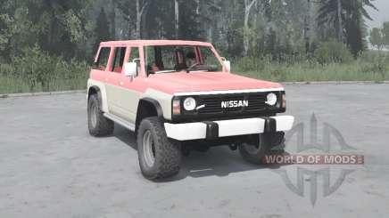 Nissan Patrol GR 5-door (Y60) 1987 pour MudRunner