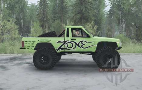 Jeep Comanche (MJ) 1984 lifted pour Spintires MudRunner