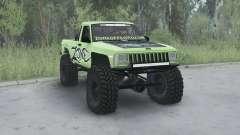 Jeep Comanche (MJ) 1984 lifted für MudRunner