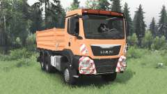 MAN TGS 26.480 2007 pour Spin Tires
